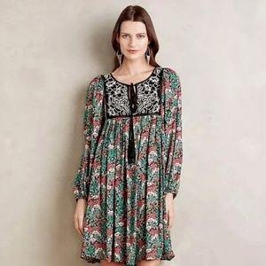 Anthropolgie Floreat Ottava dress